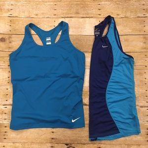 Nike Bundle of 2 tank tops